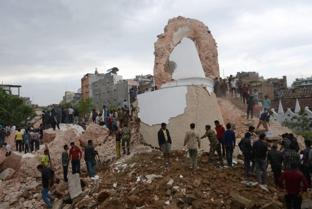 NEPAL-DISASTERS-EARTHQUAKE  אי־אף־פי