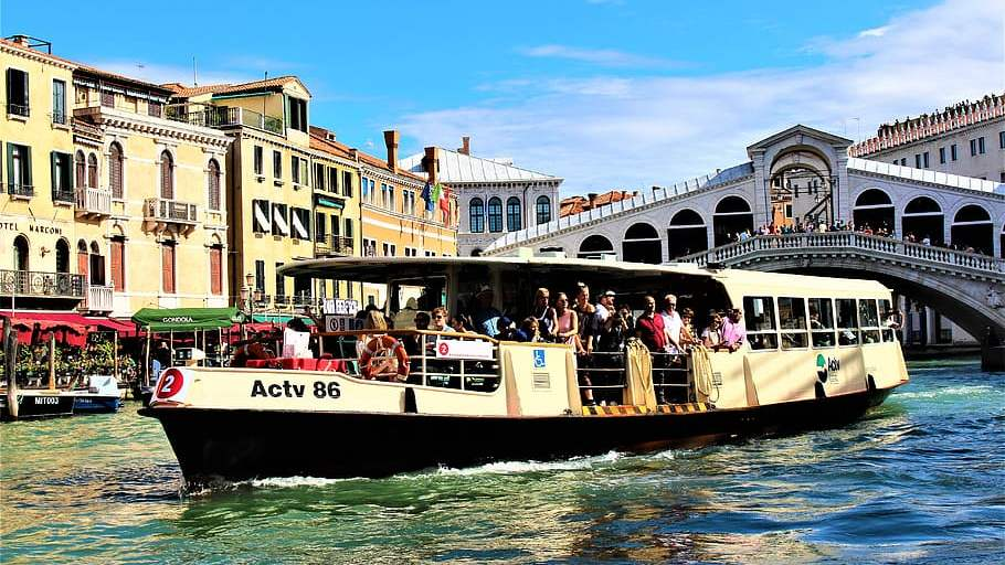 Vaporetto - The Floating City